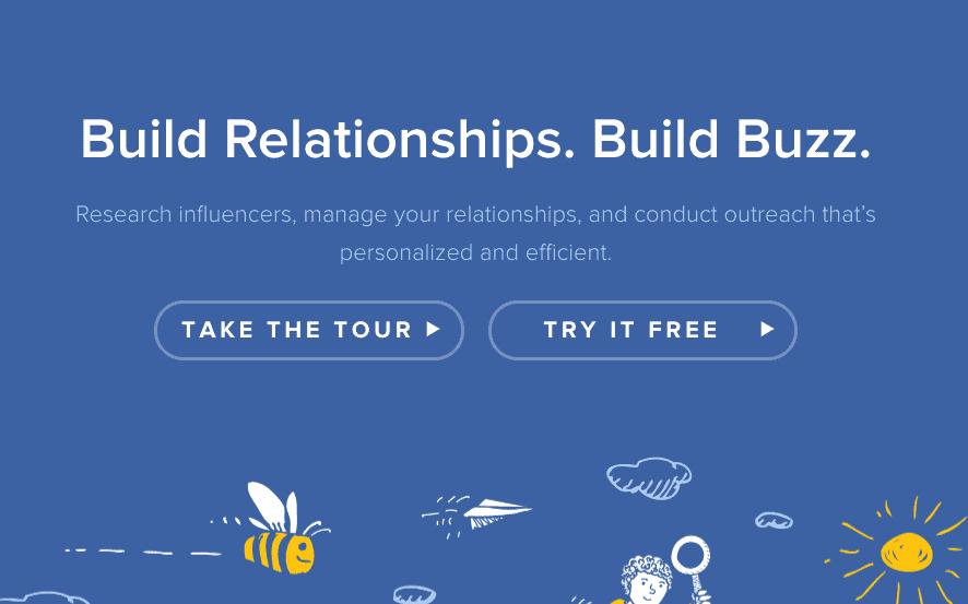 BuzzStream affiliate management software