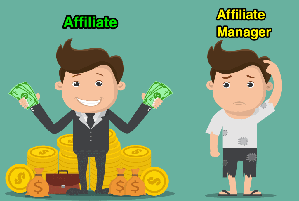 affiliate managers are paid peanuts in comparison to affiliates
